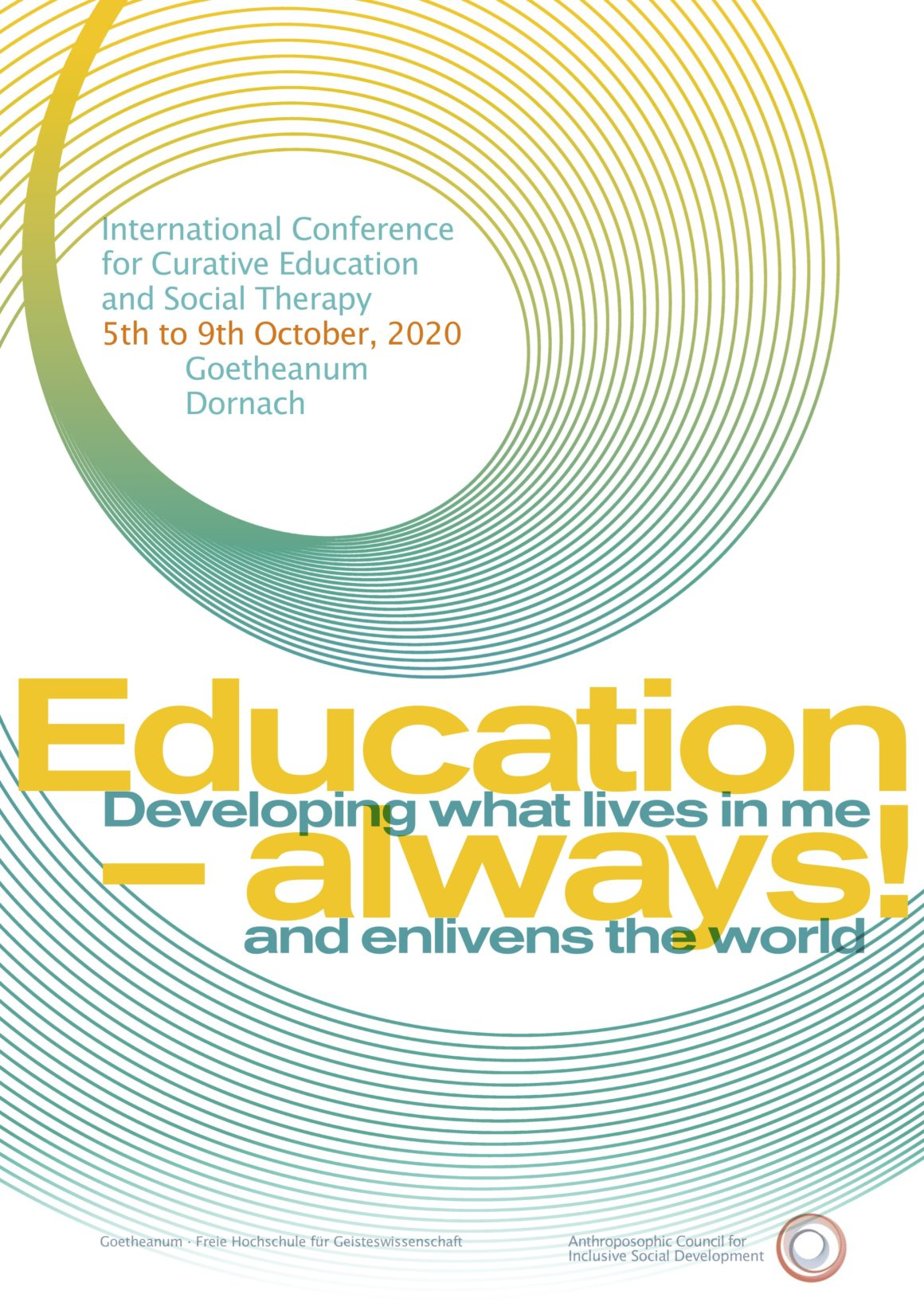 International Inclusive Autumn Conference 2020 – Call for Contributions