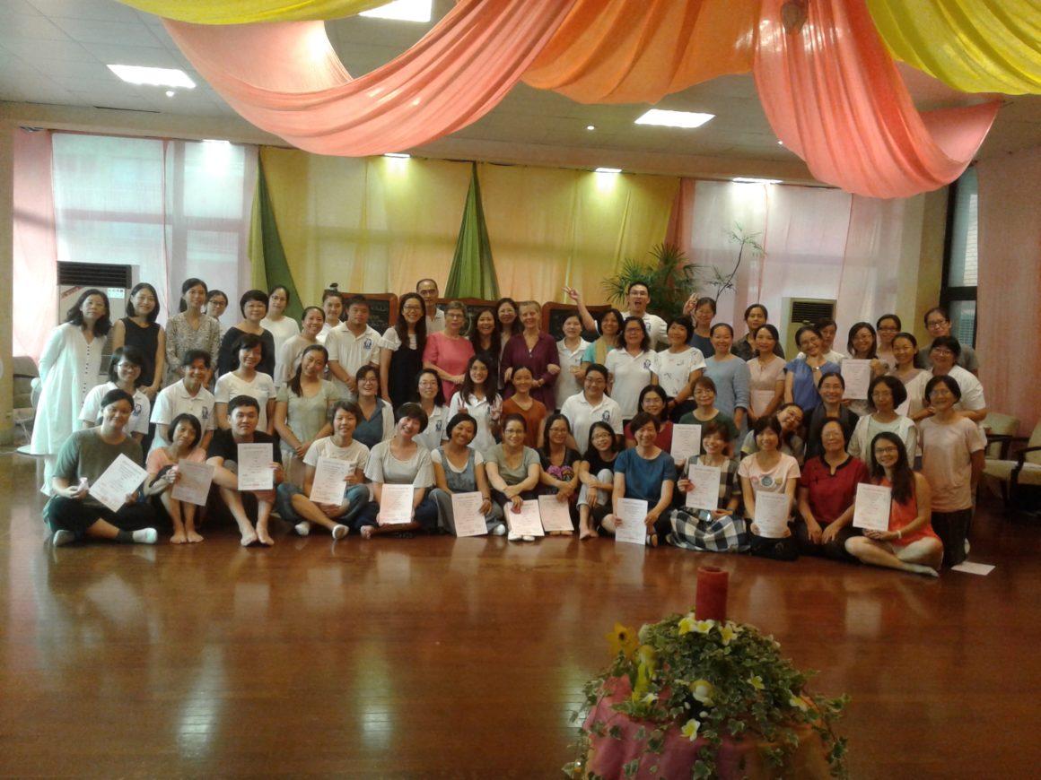 Trainings in Taiwan