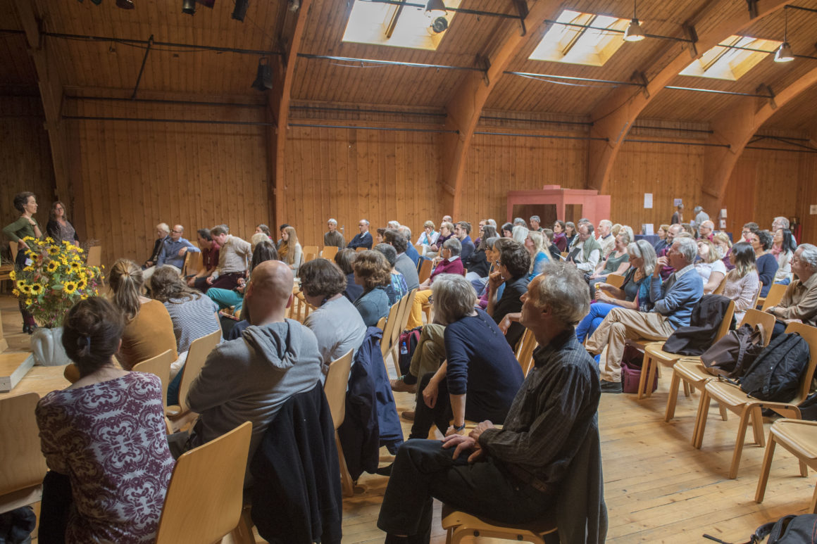 Autumn Conference of the Council 2019: October 3-5, 2019 at the Goetheanum