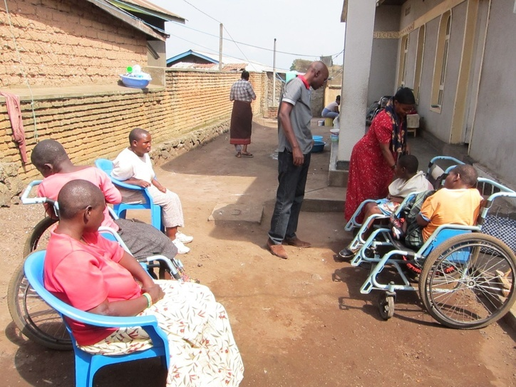 Training Project at the Ubumwe Community Center in Rwanda