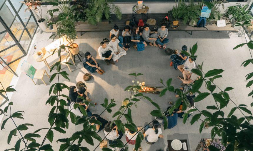 Peaceful Bamboo Family Art Exhibition (Tinh Truc Gia) in Saigon