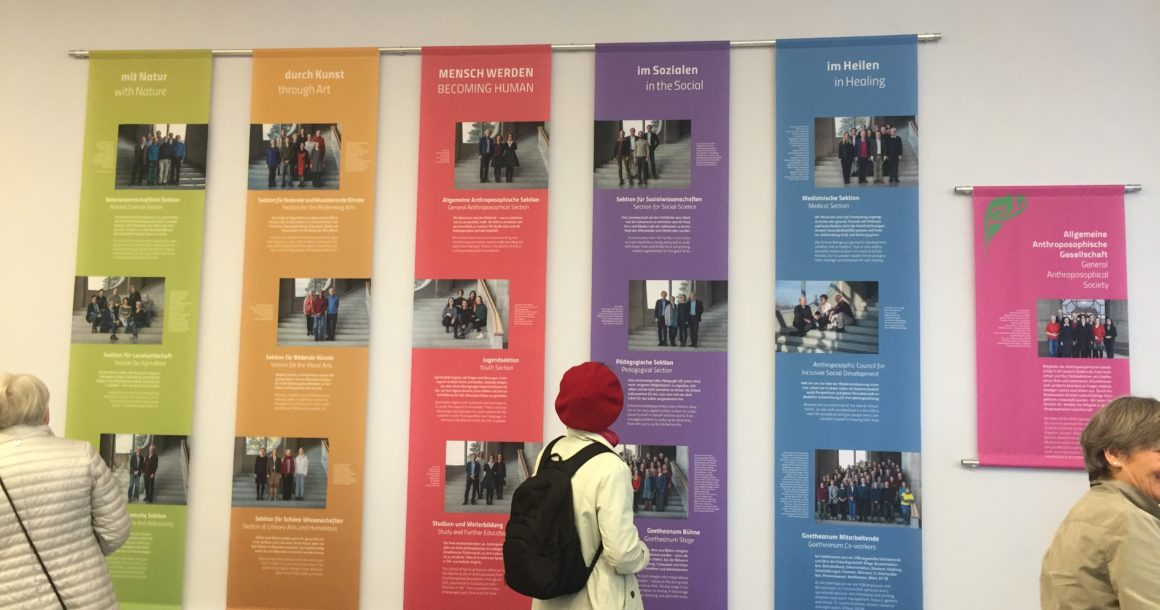 Im Goetheanum an der Westpforte