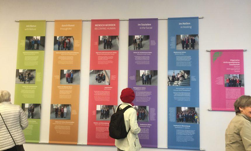 El Goetheanum, por la puerta oeste