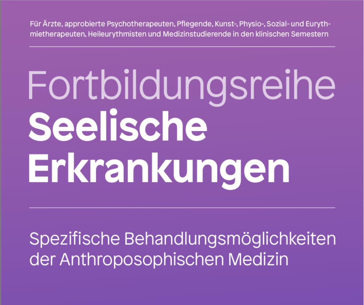 Neue Fortbildungsreihe Seelische Erkrankungen in 9 Modulen (2020-2022)