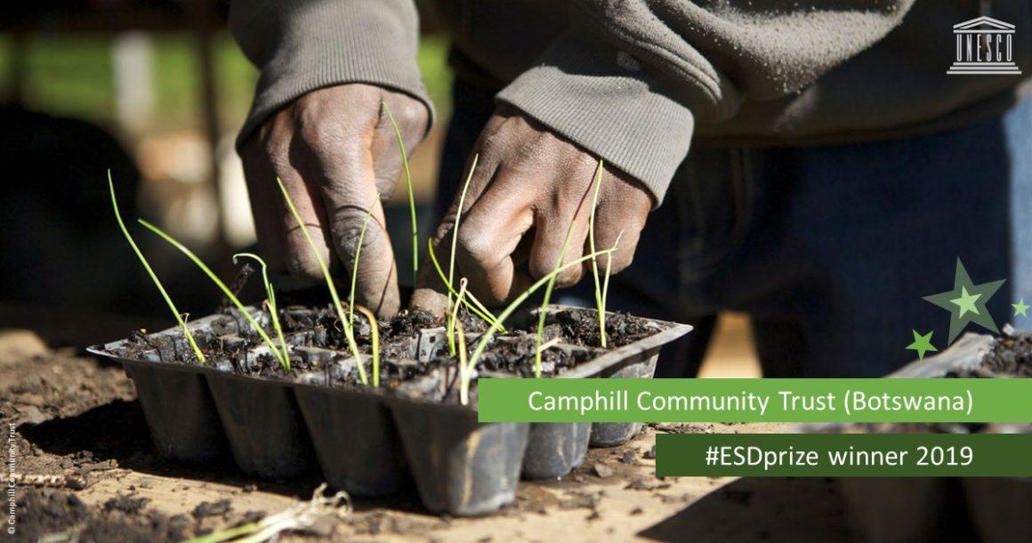 Camphill Community Trust Botswana mit 2019 UNESCO-Japan Preis für Bildung für nachhaltige Entwicklung ausgezeichnet