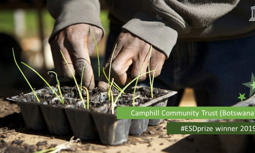 Camphill Community Trust Botswana awarded 2019 UNESCO-Japan Prize on Education for Sustainable Development
