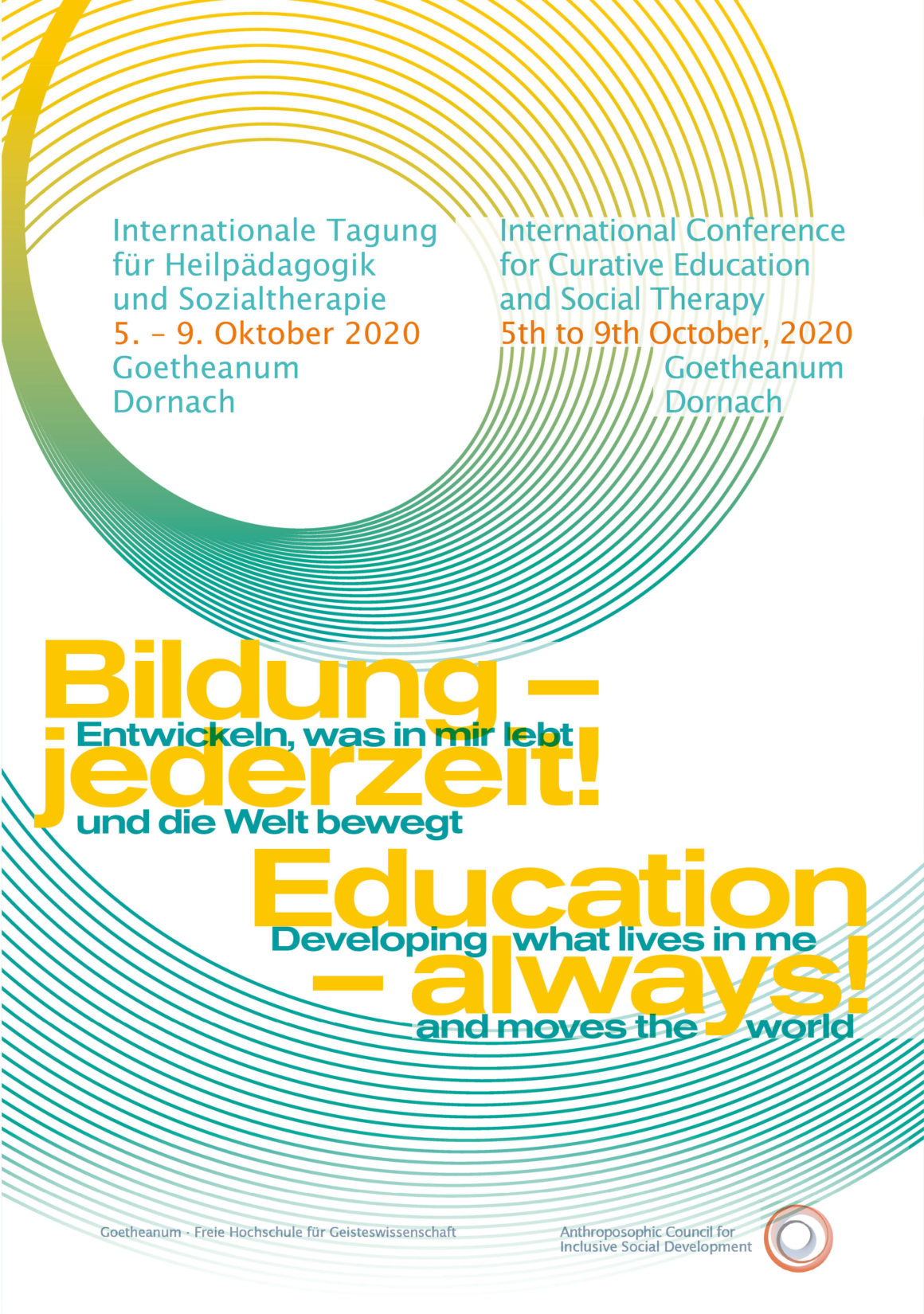 International Inclusive Autumn Conference – Register now!