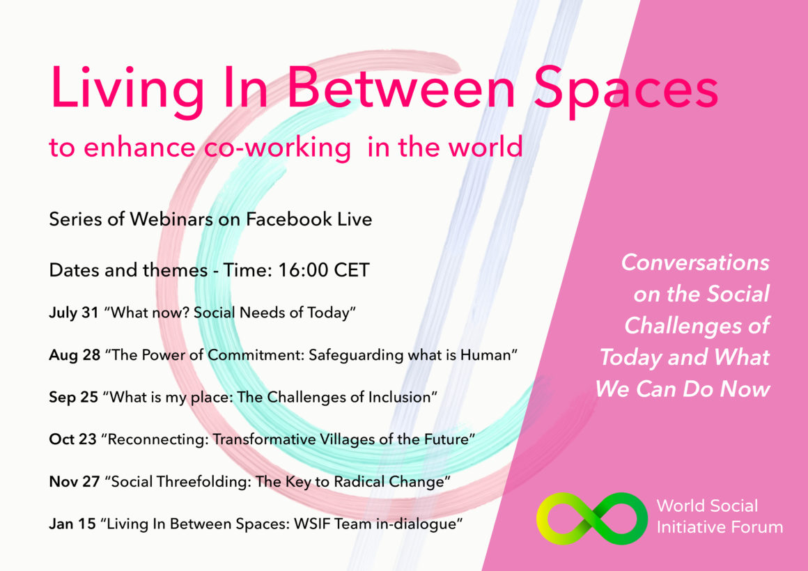 Living In Between Spaces – Serie de seminarios web del World Social Initiative Forum
