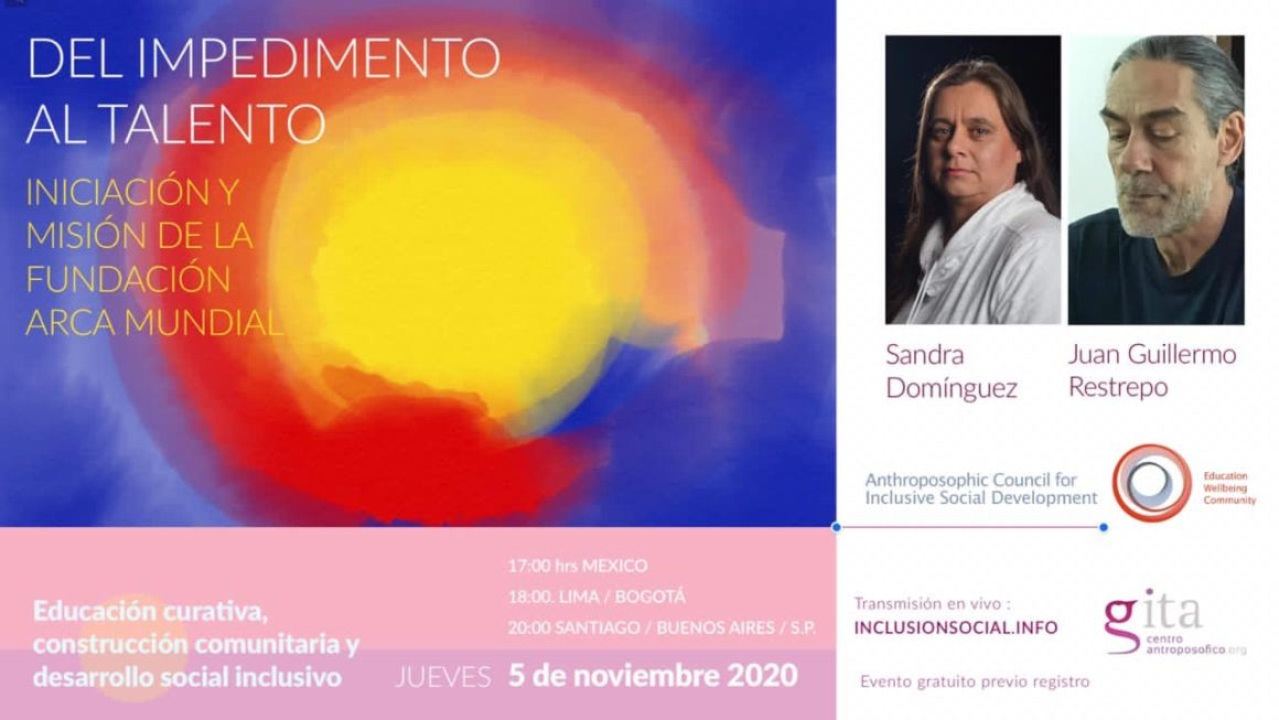 From disability to talent – 5th lecture of the Latin American lecture series (November 5, 2020)