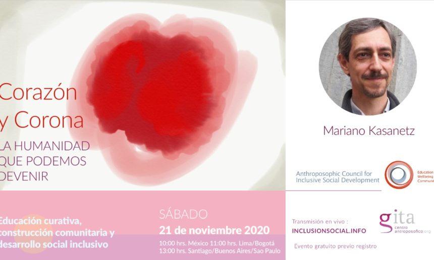 Corazón y Corona – 6ª conferencia del ciclo de conferencias latinoamericanas (21 de noviembre de 2020)