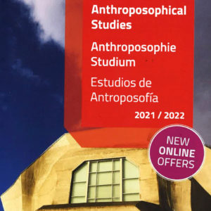 New Program 2021 – Anthroposophical Studies