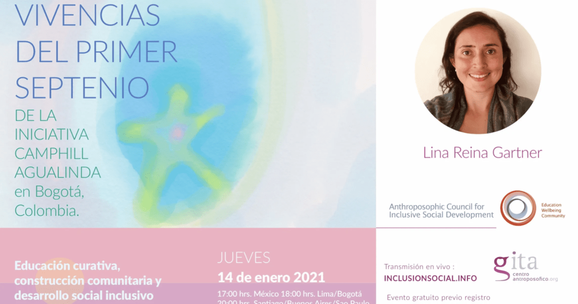 7 Jahre Camphill-Initiative Agualinda – 7. Vortrag der lateinamerikanischen Vortragsreihe (14. Januar 2021)