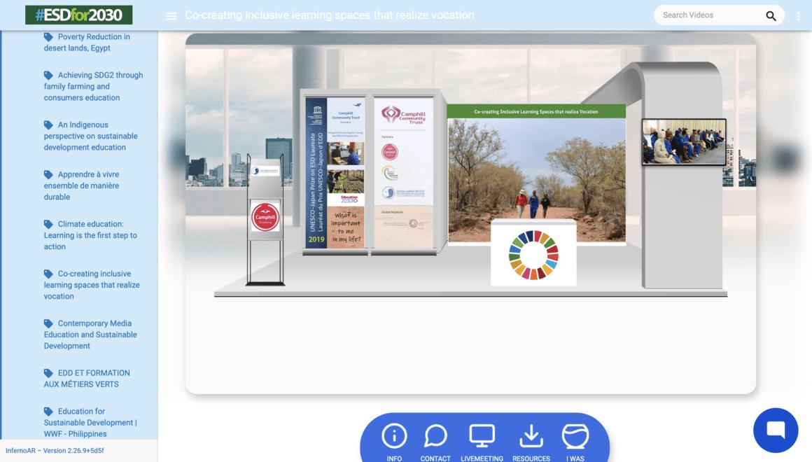 Camphill Community Trust Botswana y sus socios en la Conferencia Mundial de la UNESCO sobre Educación para el Desarrollo Sostenible
