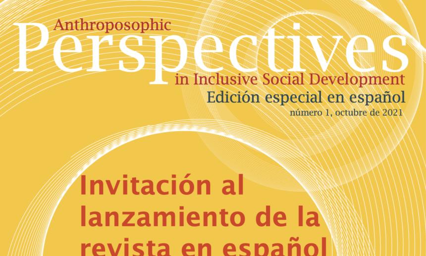 Einladung zum Launch der Zeitschrift auf Spanisch